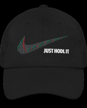 Just HODL it - Litecoin – Low Profile Cap - Black - Front