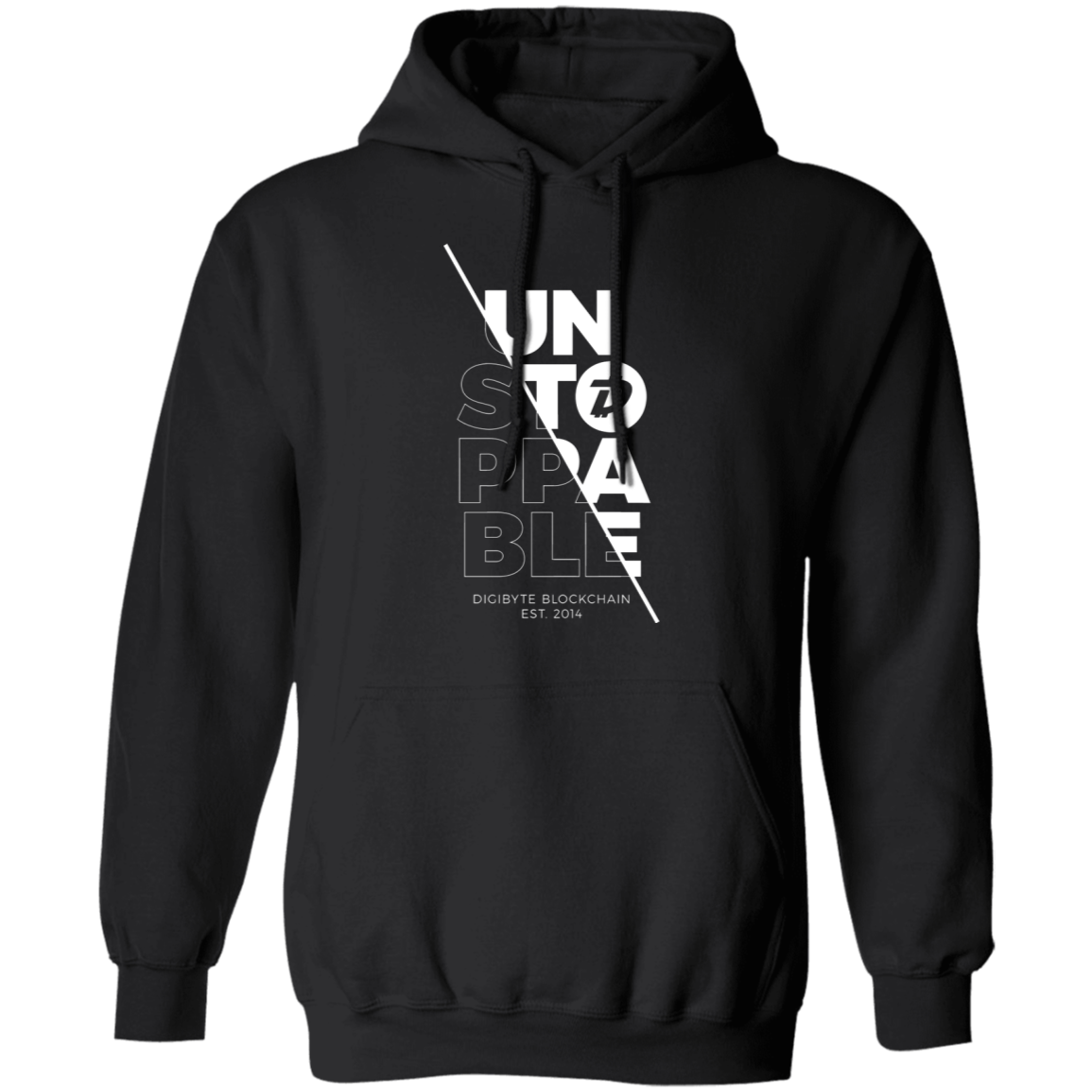 DGB Unstoppable (White) – Pullover Hoodie