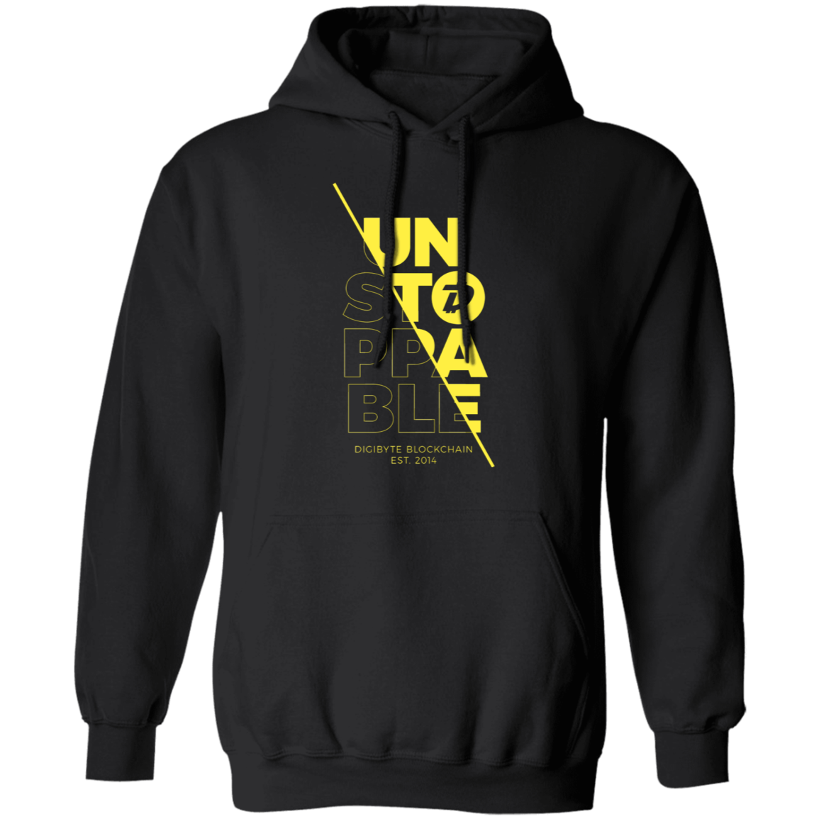 DGB Unstoppable (Yellow) – Pullover Hoodie